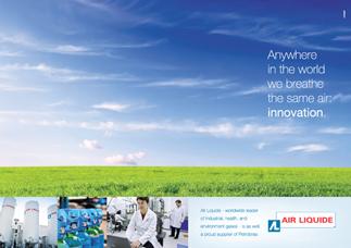 Air Liquide - Anúncio